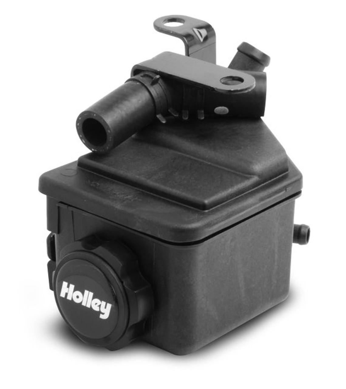 Holley LS Swap Water Pump Forward Facing Inlet Standad Middle Belt Align 22-100