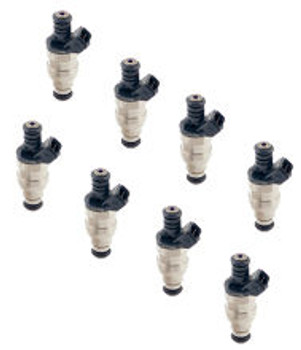 ACCEL FUEL INJECTORS 150848- 48 LB / HR - 8-PACK - 12V SATURATED CIRCUIT - 12 OHMS IMPEDANCE - 8 PACK