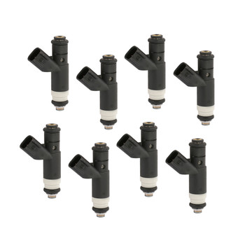 ACCEL FUEL INJECTORS 151853 - LS/UNV 53 LB/HR - HIGH IMPEDANCE - USCAR - 8 PACK