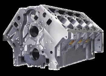 """DART SHP LS Gen III Iron Engine Block 31867111 - 9.240"""" Deck, 4.000"""" Bore"""