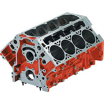 "Chevrolet Performance LSX 9.720"" Deck Iron Bare Block 19260100 - 3.880"" Bore"