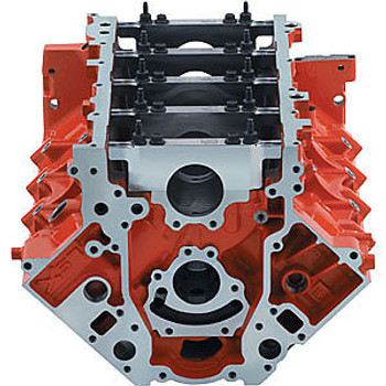 "Chevrolet Performance LSX 9.240"" Deck Iron Bare Block 19417353 - 4.185"" Bore"
