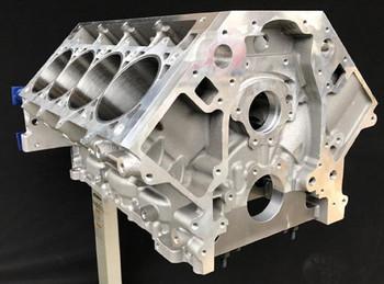 LSR Tall Deck Aluminum Race Block Double Cross Drilled LSR-TD2XRC - Raised Cam