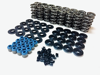 "LSXceleration LS Dual Valve Spring Kit 80540K1 - 0.660"" Lift Steel Retainers"