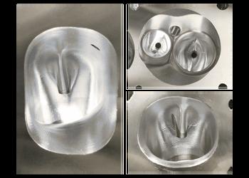 Dart Race Series GM LS 10 Degree 368cc CNC Aluminum Cylinder Head 11081050