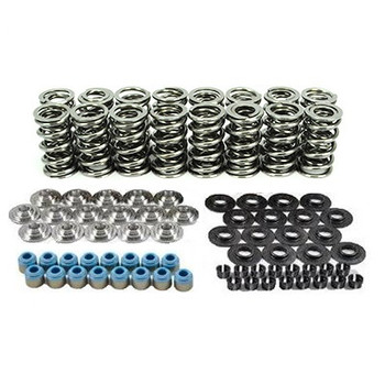 "80540K2TI XceleRate Series Dual Valve Spring Kit - 1.300"" O.D. x 0.675"" Max Lift - Titaniuml Retainers - 7 Degree"