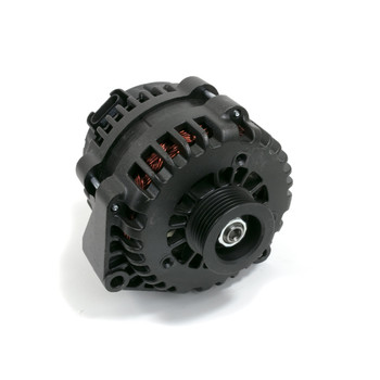 GM LS AD244 Style High Output 220 Amp Black Alternator