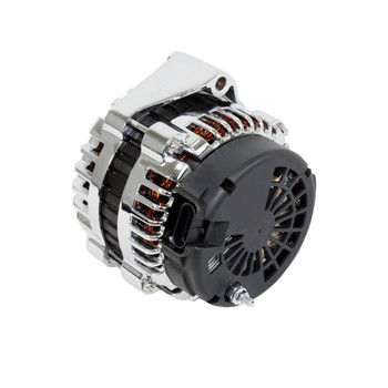 GM LS Truck AD244 Style High Output 220 Amp Chrome Alternator