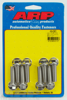 ARP GM LS Bellhousing Stainless Hex Bolts 434-0901