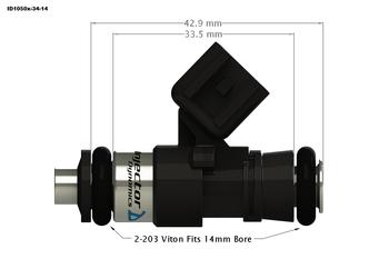 Injector Dynamics ID1700X for GM LS3/LS7/L76/L92/L99