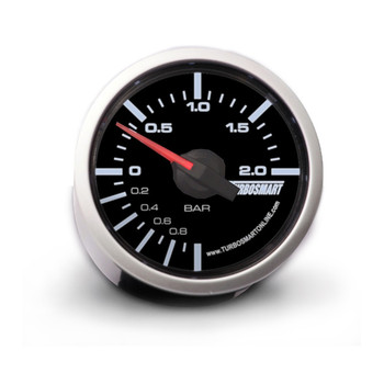 Turbosmart 52mm 0-2 BarManual Boost Gauge