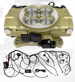 FiTech Retro LS Throttle Body EFI Kit