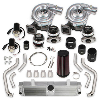 STS Rear Mounted Twin Turbo System for 2005-07 C6 LS2 STS2001