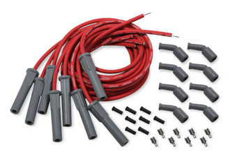 Holley LS Cut to Fit Spark Plug Wire Set - Red 561-112