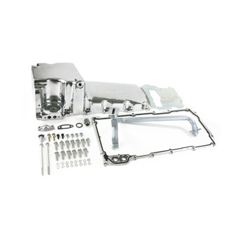 GM LS Swap Oil Pan Kit - Polished