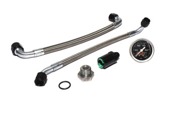 FAST LSX Fuel Line Conversion Kit w/ Gauge 54028G-KIT