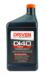 Driven Racing Oil DI40 Synthetic 0W-40 Direct Injection Engine Oil 18406