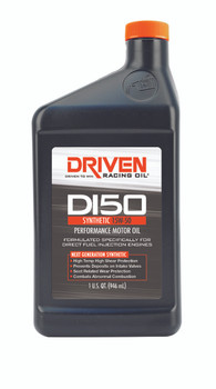 Driven Racing Oil DI50 Synthetic 15W-50 Direct Injection Engine Oil 18506