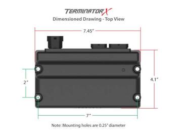Holley Terminator X GM LS Standalone ECU & Wire Harness 550-903 - 24x/EV1