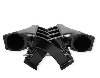 Sniper LS3 EFI Fabricated 102mm Dual Plenum Intake Manifold 822242, Black