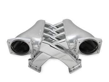 Sniper LS EFI Fabricated 102mm Dual Plenum Intake Manifold 820241, Silver