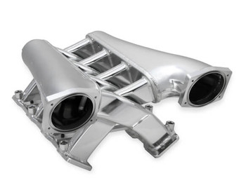 Sniper LS3 EFI Fabricated 102mm Dual Plenum Intake Manifold 822241, Silver