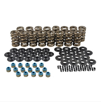 "PAC-KS16 Hot Rod Series Dual LS Valve Spring Kit - 1.304"" O.D. x 0.650 Max Lift - Steel Retainers - 7 Degree"