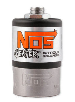 NOS Dry Nitrous Plate System for Sniper LS Race Series Manifold - 15lb Black Bottle w/ Black Plate 05504BNOS