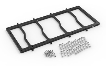 NOS Dry Nitrous Plate Only for Sniper LS Race Series Manifold - Black Plate 12536BNOS