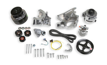 Holley LS Complete High Mount Accessory Drive Kit 20-136P