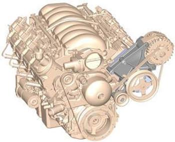 Holley LS Power Steering & Alternator Bracket 20-135