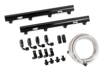 MSD Atomic EFI Billet Fuel Rail Kit 2721