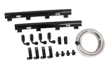 MSD Atomic EFI Billet Fuel Rail Kit 2723