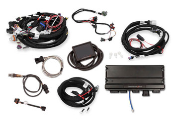 Holley Terminator X Max GM LS Standalone ECU & Wire Harness 550-919 - 24x/EV6/Trans Control