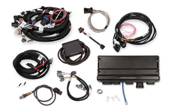 Holley Terminator X Max GM LS Standalone ECU & Wire Harness 550-933 - 24x/Multec 2/DBW