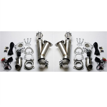 "Granatelli Motorsports 3"" Dual Electric Exhaust Cutout System 302530K"