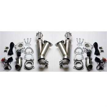"Granatelli Motorsports 3"" Dual Electric Exhaust Cutout System 302530K"