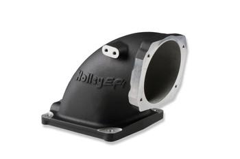 Holley LS EFI Throttle Body Intake Elbow 300-248BK