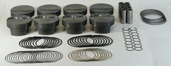 Mahle PowerPak LS 4.130 Bore 4.000 Stroke -18cc Dish Piston Kit 930229530