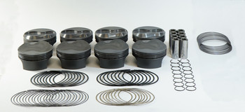 Mahle PowerPak LS 4.075 Bore 4.000 Stroke 9.2cc Dome Piston Kit 930229675