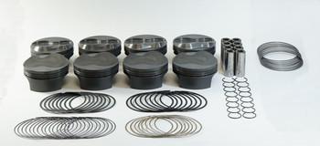 Mahle PowerPak LS 4.080 Bore 4.000 Stroke 9.2cc Dome Piston Kit 930229680