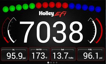 """Holley EFI 7.500""""Digital Dash 553-106"""