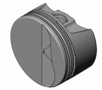 CP Bullet 5.3L Turbo Piston Kit BLS1015-019   3.799 Bore 3.622 Stroke -3.14cc Flat Top