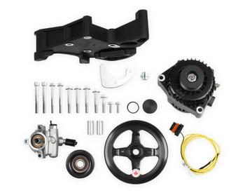 Holley LS Alternator & Power Steering Pump Accessory Drive Kit 20-143BK