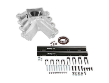 Holley LS Single Plane Split-Design Cathedral Port EFI Intake Manifold 300-294