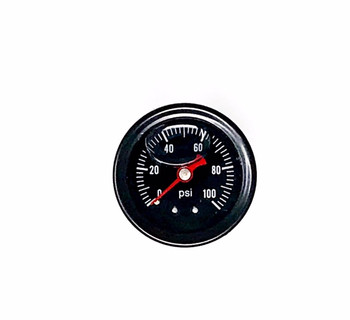 LSXceleration Oil Filled 0-100 PSI EFI Fuel Pressure Gauge 30-001