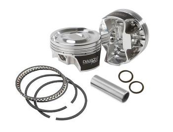 Diamond Gen V LT1/LT4 4.070 Bore 3.622 Stroke -1.5cc Dome Piston Kit Competition Series 11534-R2-8