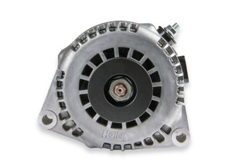 Holley Premium Alternator with 150 Amp Capability - Natural 197-302
