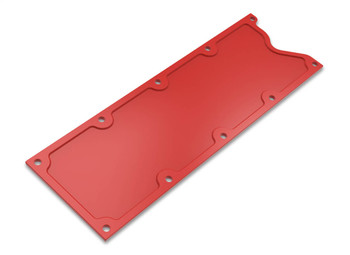 Holley GM LS1/LS6 Finned Valley Cover - Gloss Red 241-259
