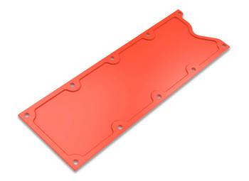Holley GM LS1/LS6 Finned Valley Cover - Orange 241-270